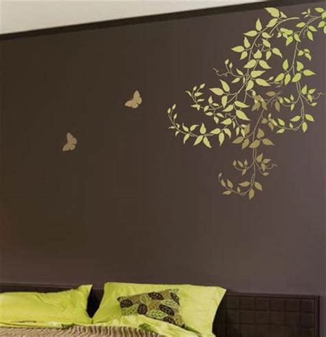 8 Diy Wall Painting Stencils Design  Diy And Crafts