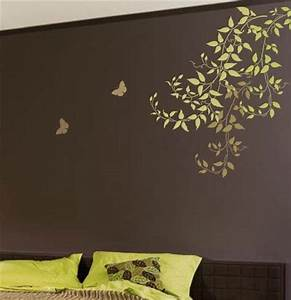 8 diy wall painting stencils design diy and crafts for Interior wall painting ideas stenciling