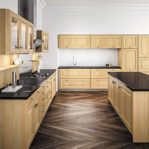 cuisine bois clair cuisine bois clair le bois chez vous
