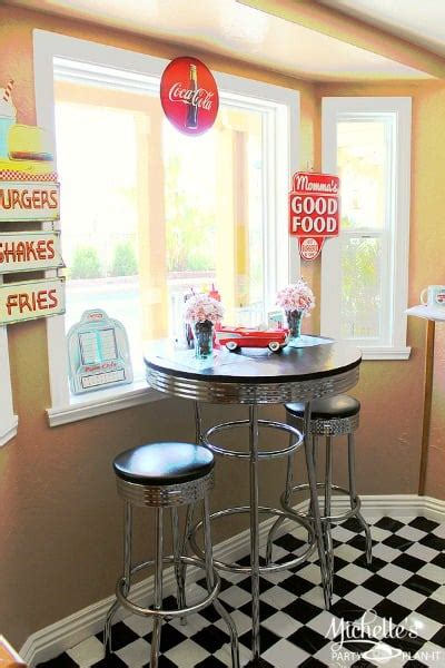 retro diner party  fathers day moms munchkins