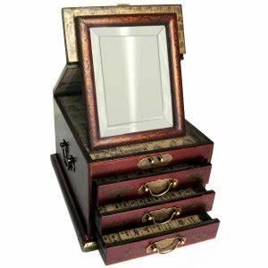 Miroir Boite A Bijoux : boite bijoux avec miroir biseaut magasin du meuble ~ Teatrodelosmanantiales.com Idées de Décoration