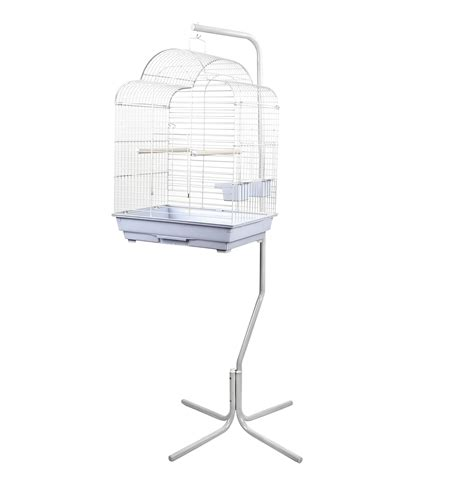 birdcage stands brasilia bird cage with stand black or white free postage