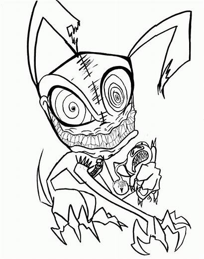 Scary Coloring Pages Printable