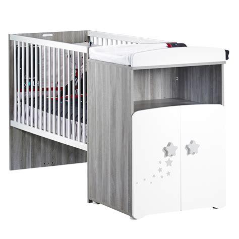 siège pour bébé lit bébé combiné évolutif 60x120cm en 90x190cm nao de baby