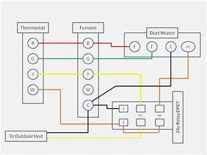 Payne Furnace Thermostat Wiring Diagram