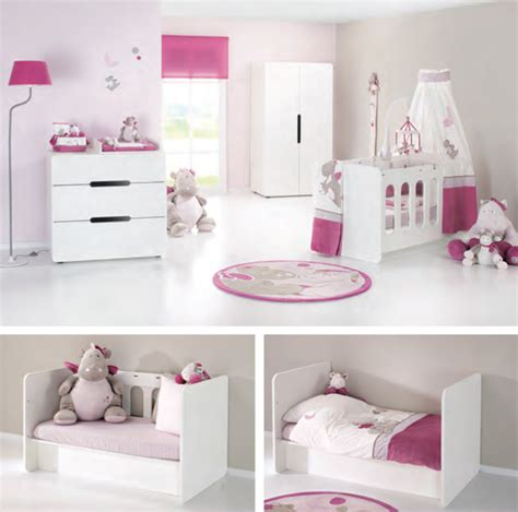 chambre bébé noukies chambre aspen blanche avec lit évolutif 60x120 plexiglas