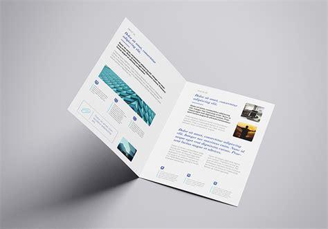 A4 Bifold Brochure Mockup Free A4 Bifold Mockup Mockups Design Free Premium Mockups