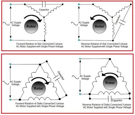 single phase forward reverse motor wiring diagram
