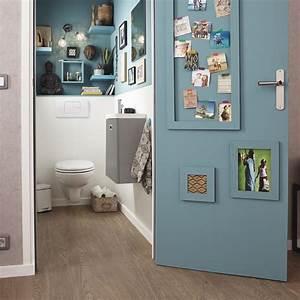 les 25 meilleures idees de la categorie deco wc sur With carrelage adhesif salle de bain avec led chute de neige