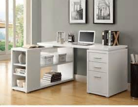 Computer Table For Small Spaces by White Corner Desk Design Ideas For Modern Work Areasthe