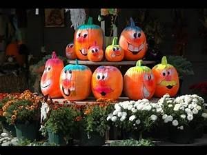 Comment Faire Une Citrouille Pour Halloween : halloween d co faire avec les enfants th me citrouille youtube ~ Voncanada.com Idées de Décoration