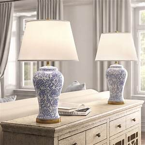 Farmhouse, Bedroom, Nightstand, Lamps