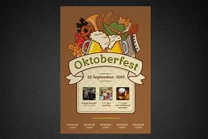 Oktoberfest Poster Template ~ Flyer Templates on Creative ...
