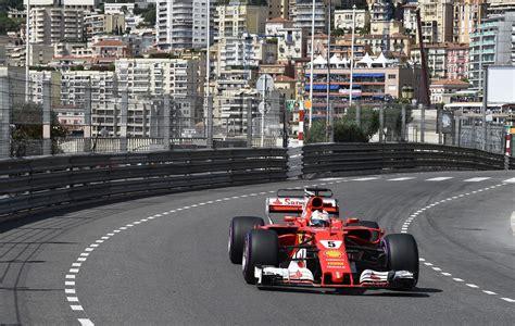 vettel wins  formula  monaco grand prix