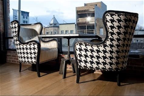 oversized houndstooth houndstooth chairs houndstooth