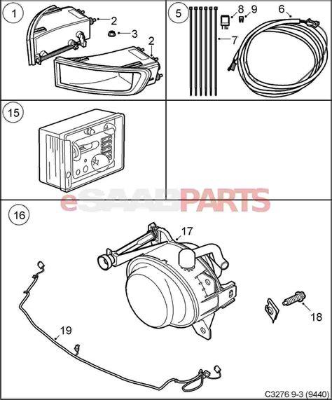 Saab 9 5 Acc Wiring Diagram by 32026003 Saab Fog Light Kit Genuine Saab Parts From