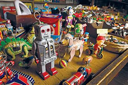 Dime Stores Five Toys Antique American Americanprofile