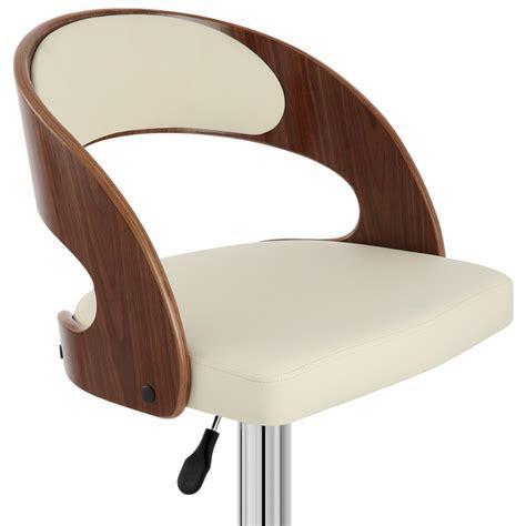 chaise de bar bois chaise de bar bois chrome noyer monde du tabouret