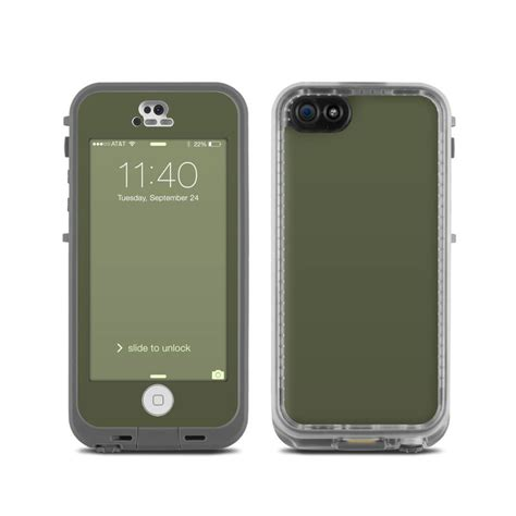 lifeproof iphone 5c lifeproof iphone 5c fre skin solid state olive drab