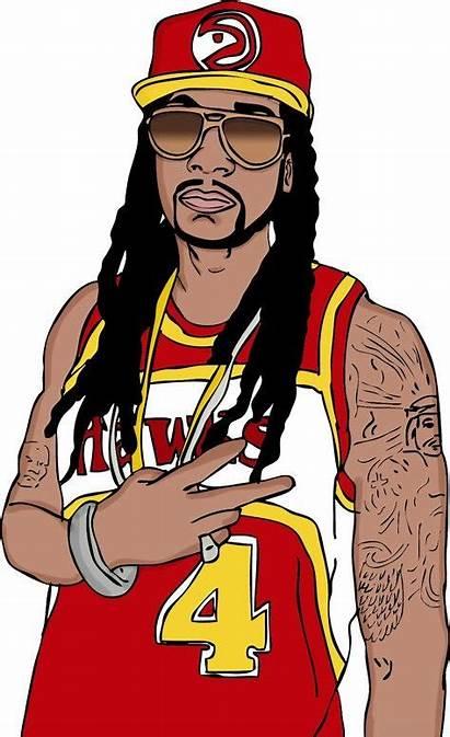 Chainz Hop Hip Cartoon Rapper Drawings Rap