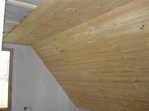 Pose Lambris Bois : construction d 39 une maison ossature bois mob en aveyron ~ Premium-room.com Idées de Décoration