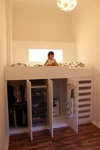 Kinderbett Unter Dachschräge : kleines schlafzimmer einrichten 80 bilder ~ Michelbontemps.com Haus und Dekorationen