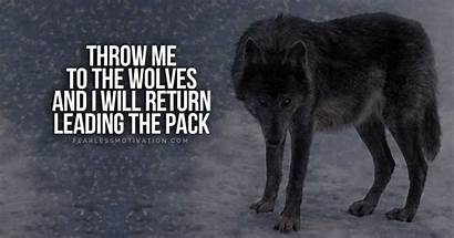 Wolf Quotes Wolves Pack Strong Pump Fearless