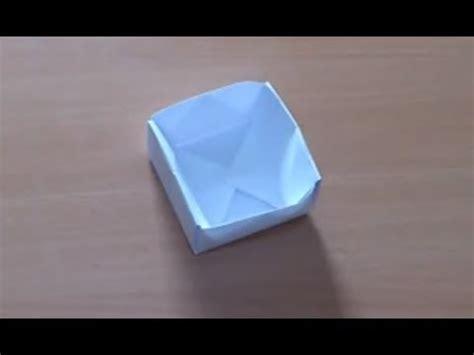comment faire une boite en origami pot en origami