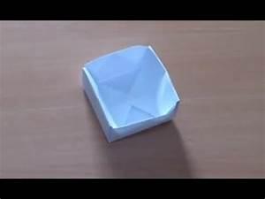 Comment Faire Une Boite En Origami : comment faire une boite en origami pot en origami youtube ~ Dallasstarsshop.com Idées de Décoration