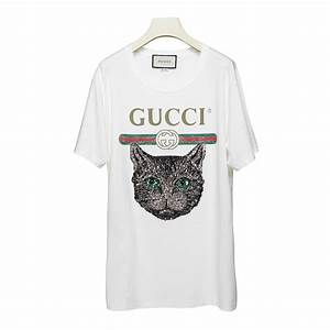 0c372db8b Gucci T Shirt. gucci gg classic t shirt white eyeconicwear. gucci ...