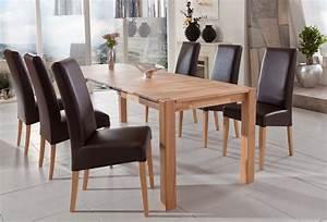 Esstisch 6 Stühle : essgruppe kernbuche tisch georg 2xl 140 220 x80 6 st hle robin braun wohnbereiche esszimmer ~ Eleganceandgraceweddings.com Haus und Dekorationen