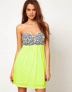 1000 ideas about Neon Dresses on Pinterest