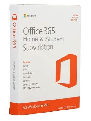 Office 365 Student by Microsoft Office 365 Home Student 8445134111 Fegon