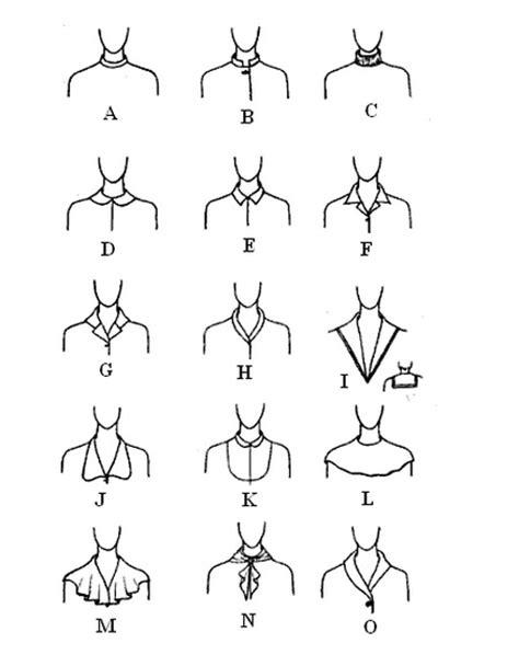 manset leher kerut 2 jenis lengan dan kolar pada pakaian ekonomi rumah tangga