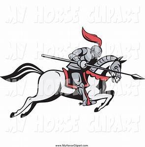 Royalty Free Knight Stock Horse Designs