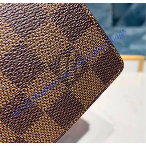 louis vuitton damier ebene enveloppe carte de visite  brown luxtime dfo handbags