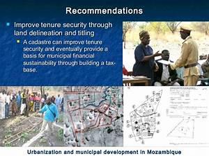 Urbanization  U0026 Municipal Development In Mozambique  Urban