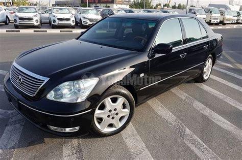 ls for sale used lexus ls 430 2004 car for sale in dubai 752382 yallamotor com