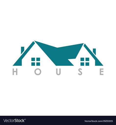 Home Roof Logo Royalty Free Vector Image Vectorstock