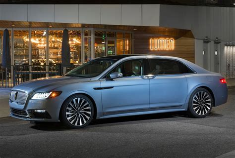 lincoln continental  anniversary price review