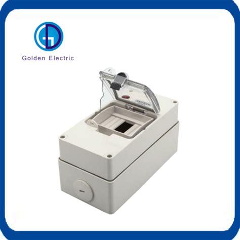 China Plastic Electrical Circuit Breaker Box