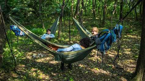 Pack Hammock by One Less Thing To Carry A Backpack With An Integrated