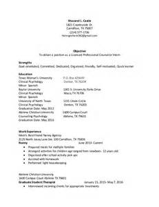 licensed professional counselor curriculum vitae lpc resume