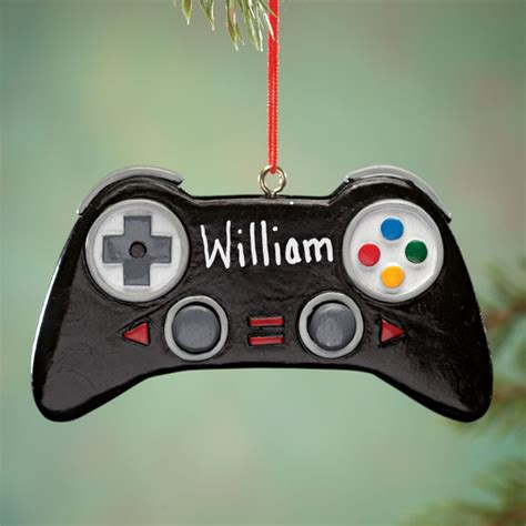 Personalized Video Game Controller Ornament Ornaments