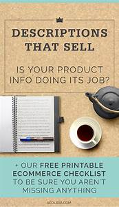 Are Your Product Descriptions Doing Their Job? a Link ...