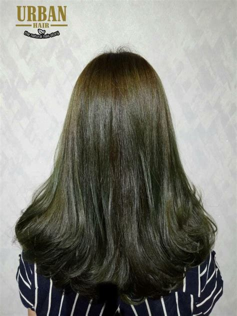 emerald brown hair color green  perm urban hair