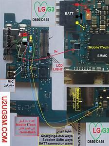 Lg G3 D855 Battery Connector Terminal Jumper Ways