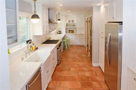 terracotta floor tile kitchen piedmont kitchen traditional kitchen san francisco 6031