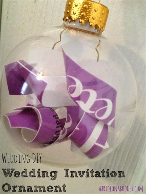 1000 ideas about wedding invitation ornament on