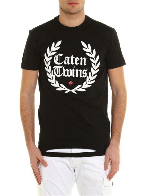 camiseta mujer dsquared2 s75gc0926 s22427 xjpslpz descuento de ropa de marca dsquared2 camiseta caten crown negro camisetas s71gd0536 s22427 900